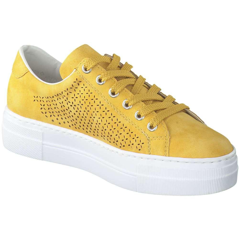 Rieker Plateau Sneaker gelb