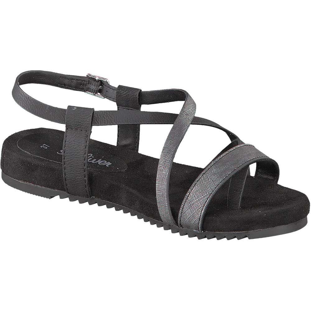oliver sandale schwarz s oliver sandale schwarz 39 95 49 95 inkl. Black Bedroom Furniture Sets. Home Design Ideas