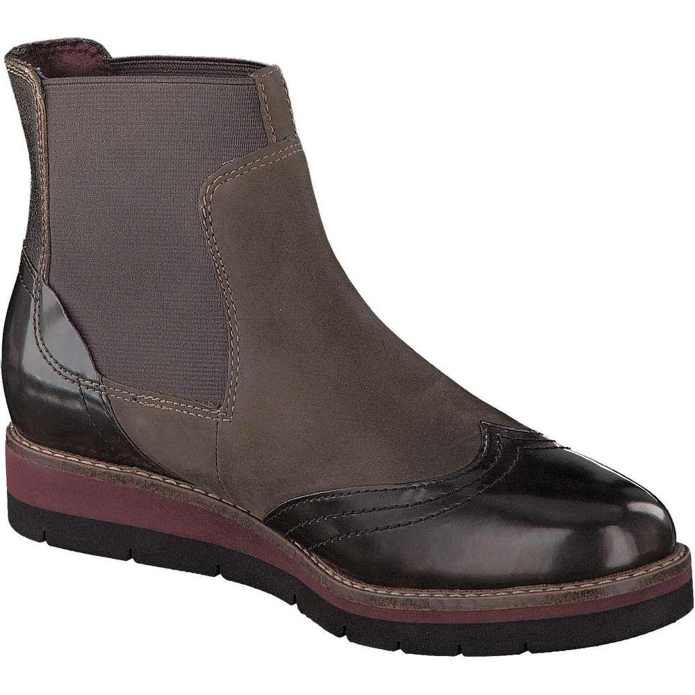 tamaris chelsea boots braun tamaris chelsea boots. Black Bedroom Furniture Sets. Home Design Ideas