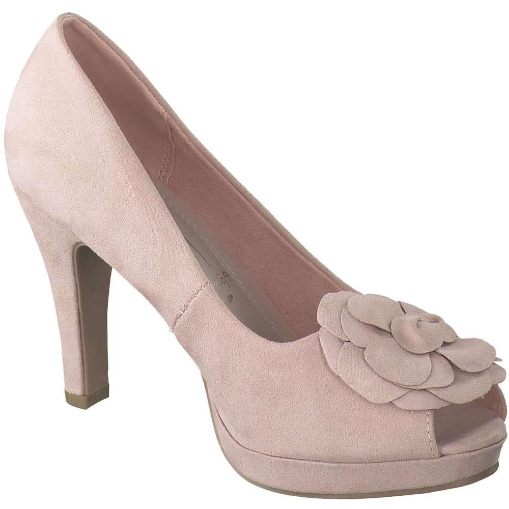 Via della Rosa Peep Toe rosa |