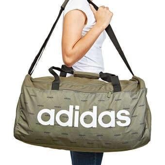 adidas Lin Core Dufflebag Sporttasche grün