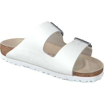 Birkenstock - Pantolette Arizona - weiß