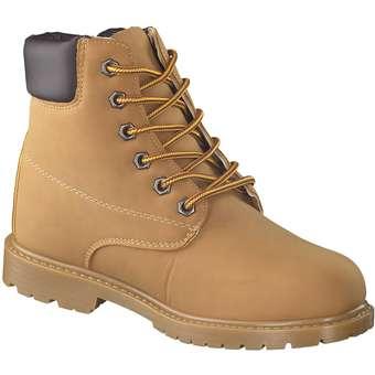 Inspired Shoes Schnür Boots gelb