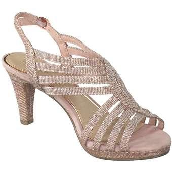 MARCO TOZZI Sandale rose metallic