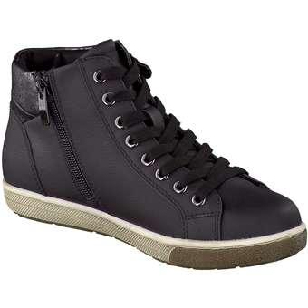 Puccetti - Sneaker High - schwarz