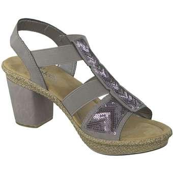 Rieker - Sandale - grau