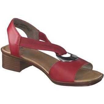 new style 59237 01702 Rieker - Sandale - rot