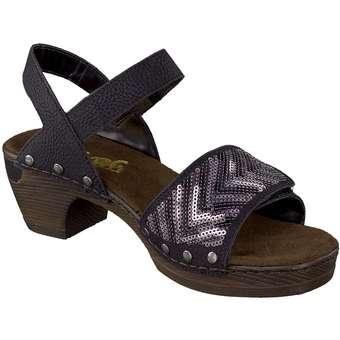 Rieker - Sandale - schwarz