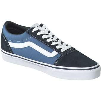 Vans MN Ward Skate Sneaker blau