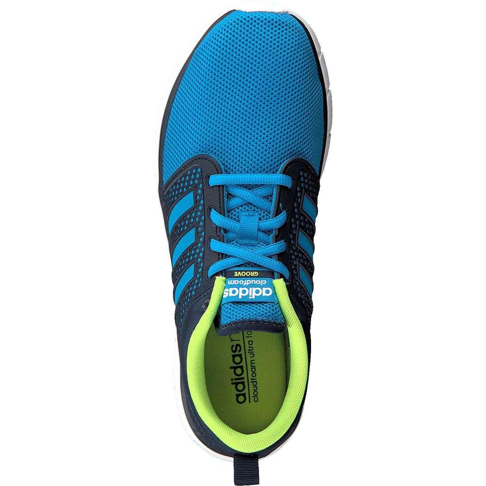 adidas neo herren sneaker cloudfoam groove blau. Black Bedroom Furniture Sets. Home Design Ideas