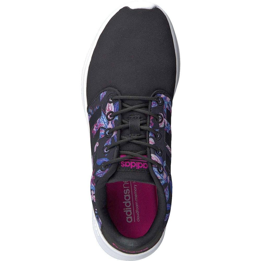 Women's adidas NEO Cloudfoam QT Racer Sneaker Mystery Blue
