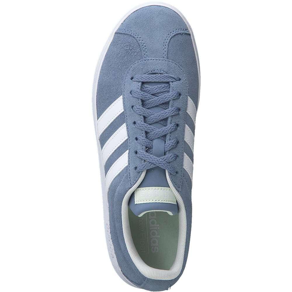adidas - VL Court 2.0 W Sneaker - blau | Schuhcenter.de