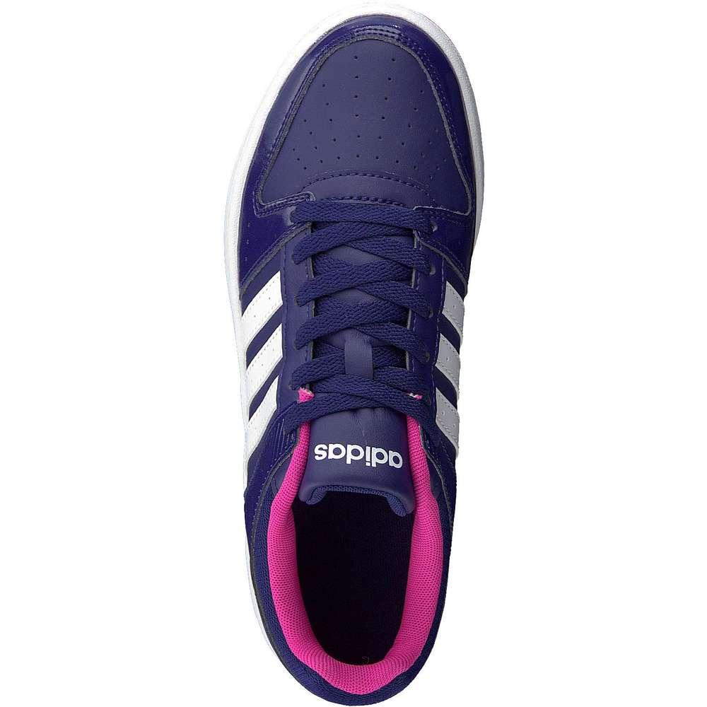 adidas neo vs hoopster w damen sneaker blau reduziert bei. Black Bedroom Furniture Sets. Home Design Ideas