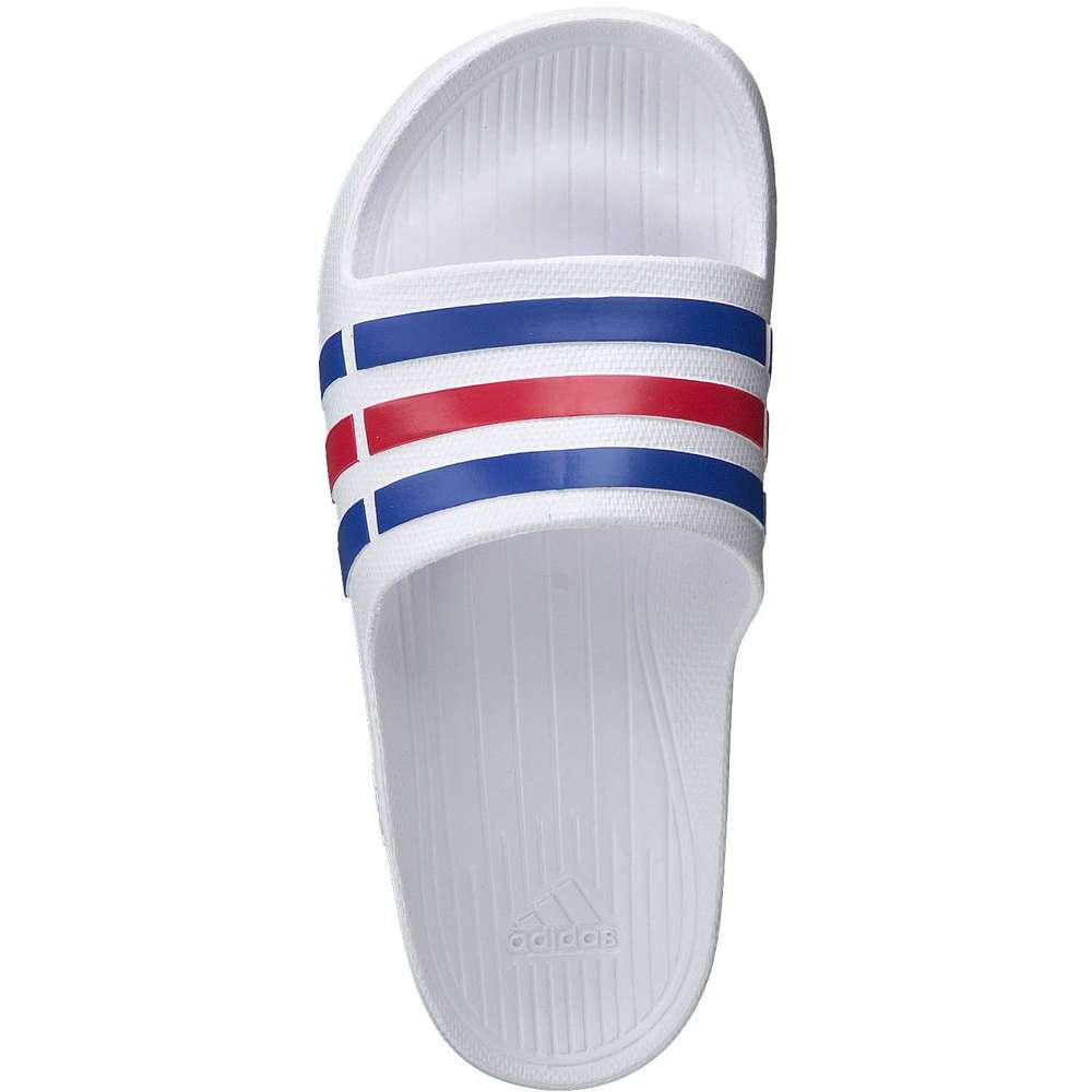 adidas Duramo Slide Badepantolette weiß