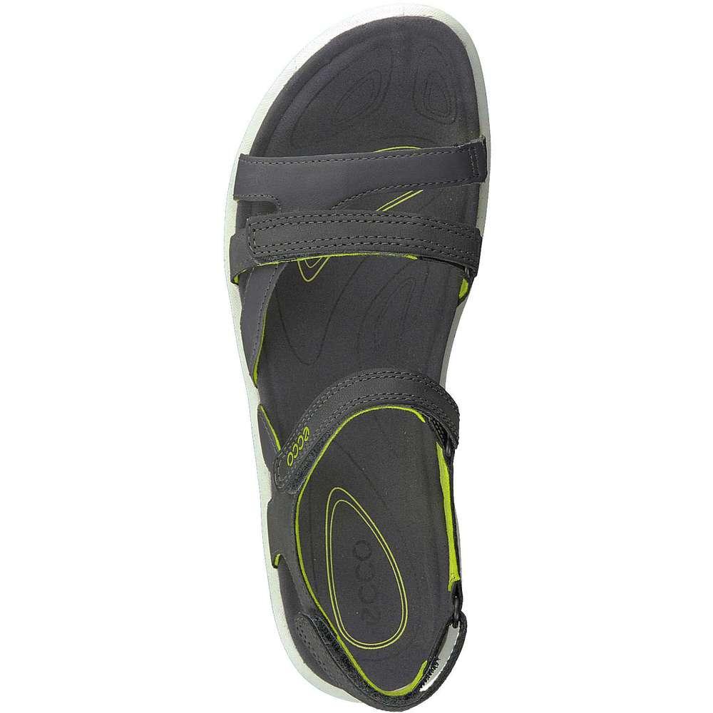 ecco damen cruise sandale in grau reduziert bei. Black Bedroom Furniture Sets. Home Design Ideas