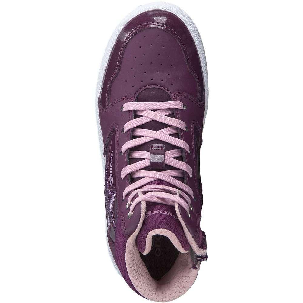 Geox Jr Maltin High Sneaker lila ❤️  