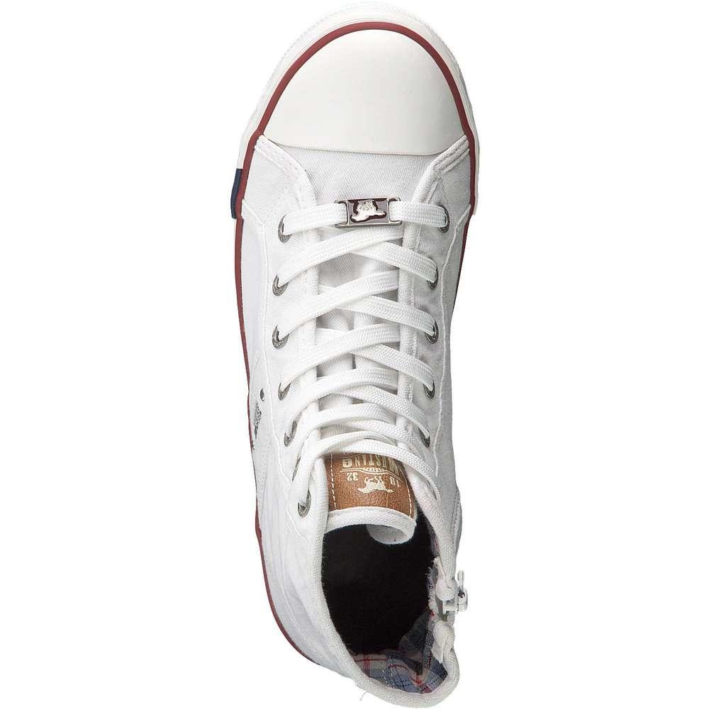 Mustang Sneaker High weiß ❤️  