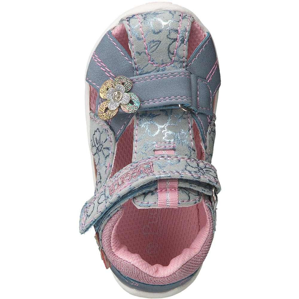 Puccetti Lauflern Sandale rosa  
