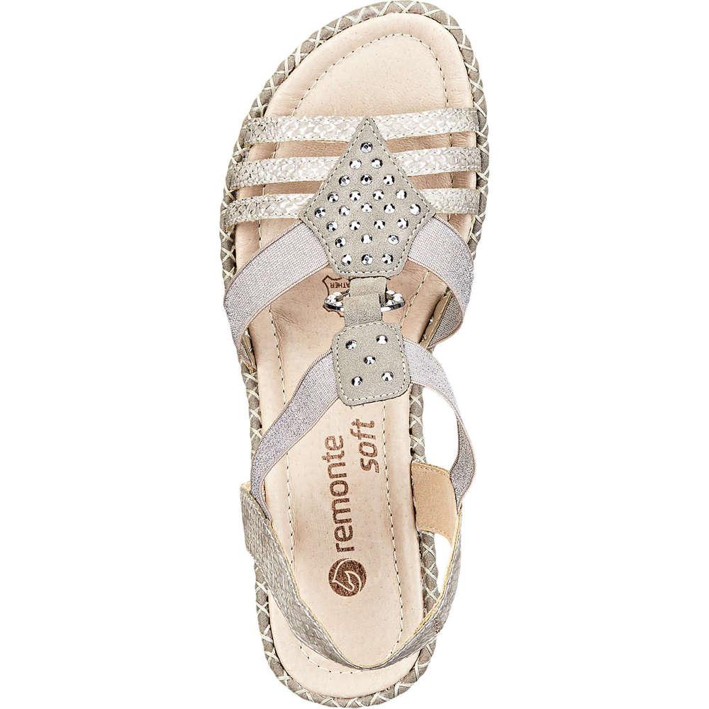 buy popular 6f9a7 a70b0 Remonte - Sandale - beige   Schuhcenter.de