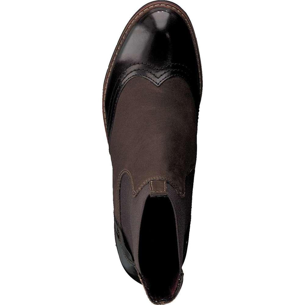 tamaris chelsea boots schwarz pin details zu tamaris. Black Bedroom Furniture Sets. Home Design Ideas