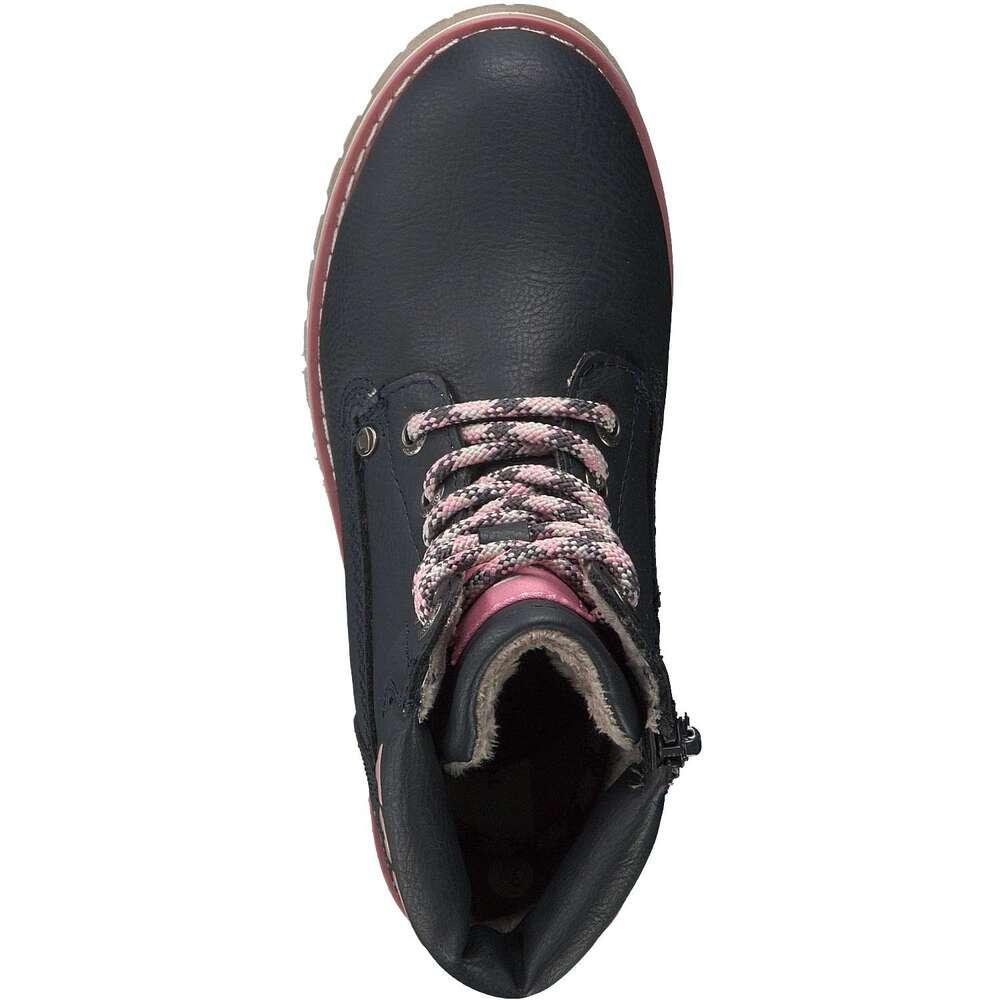 buy popular e9389 8b8d1 Tom Tailor - Schnür Boots - blau | Schuhcenter.de