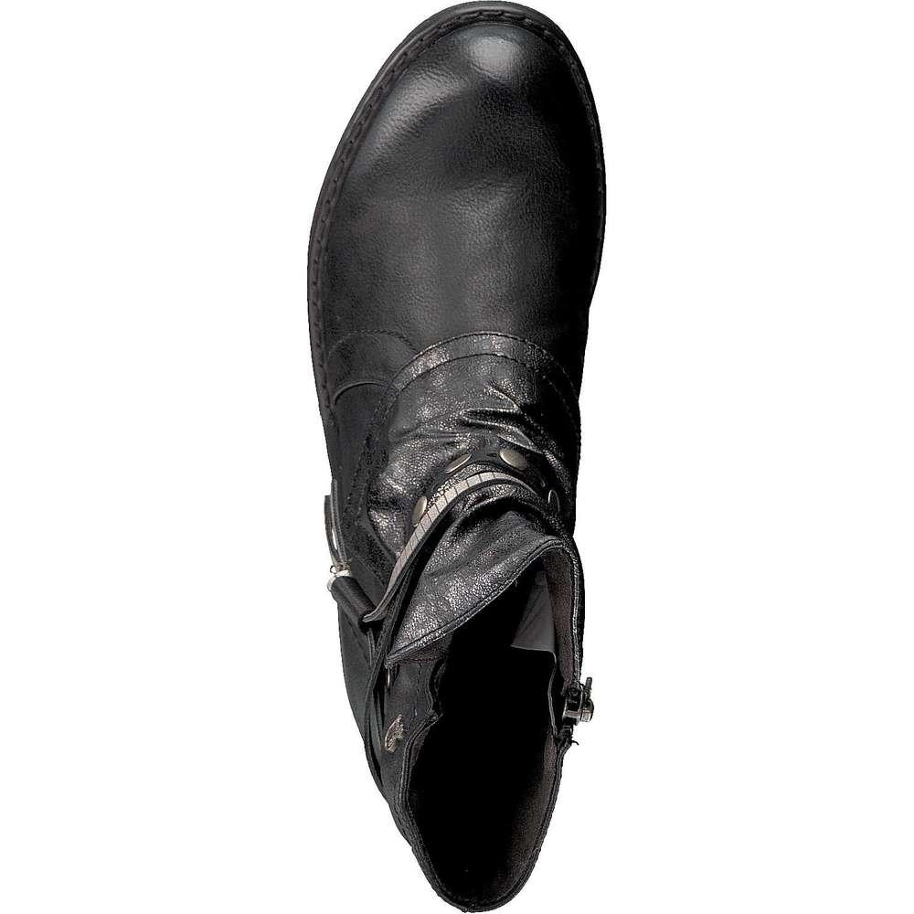 tom tailor stiefelette schwarz tom tailor stiefelette schwarz 39 95 69. Black Bedroom Furniture Sets. Home Design Ideas