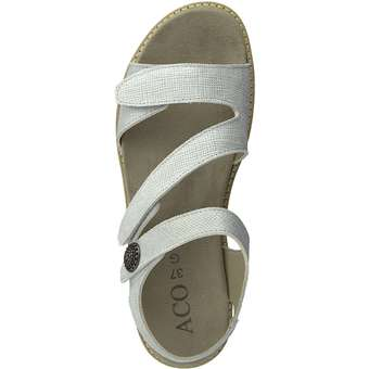 Aco - Nora 05-Sandale - silber