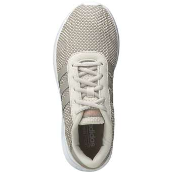 adidas Lite Racer W Sneaker beige komfortabler Damen
