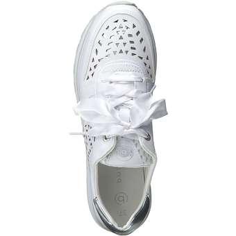 Bugatti Safia EVO Plateau Sneaker weiß