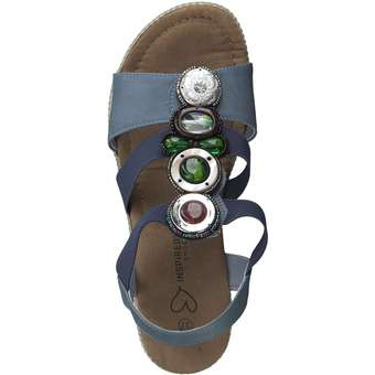 Inspired Shoes - Sandale - blau ❤️ |  92154876211