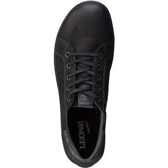 Leone Comfort - Schnürer - schwarz