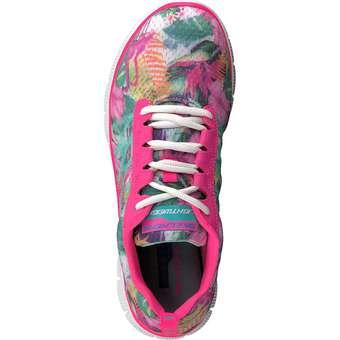 Skechers - Flex Appeal Floral Bloom - pink