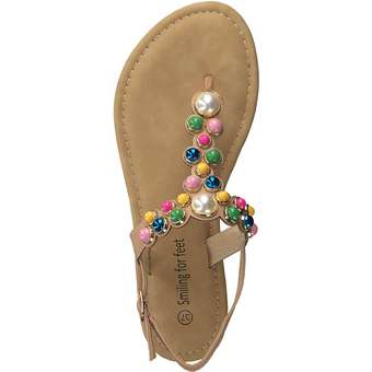 smiling for feet Sandale