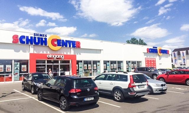 Alle Schuhcenter Filialen in Wiesbaden und Umgebung