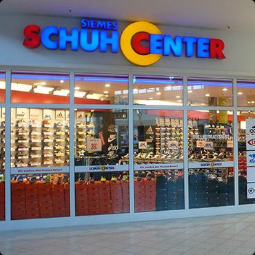 Siemes Schuhcenter in Flensburg, Schleswiger Straße 130
