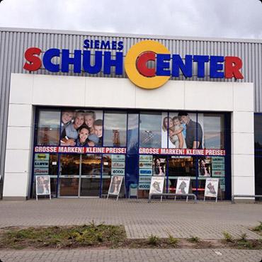 Alle Schuhcenter Filialen in Henstedt Ulzburg und Umgebung