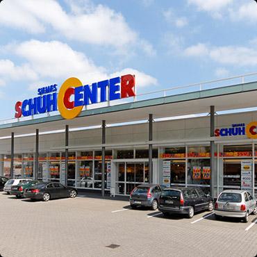 Siemes Schuhcenter in Rendsburg, Kreishafenstraße 2 Alte