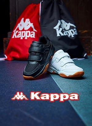 Schuhe v. Kappa Turnschuhe Sneaker Halle Gr. 30 weiß pink