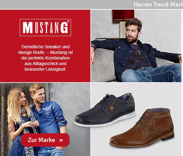 Herren Schuhe Mustang