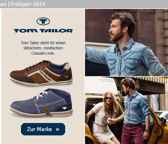 Herren Schuhe Tom Tailor