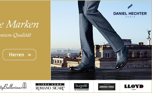 Exklusive Marken für Herren