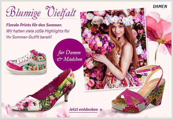 Florale Prints für den Sommer