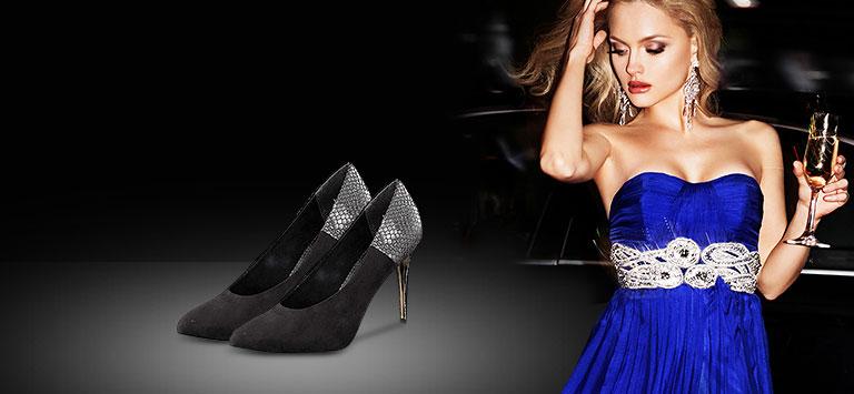 Schuhe für Ihr Party-Outfit
