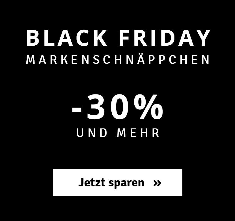 Black Friday - 30% und mehr sparen