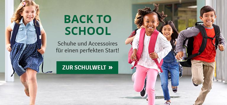 Back to School - Schuhe und Accessoires für Kids