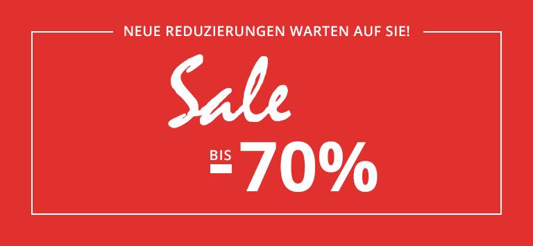 SALE bis -70%