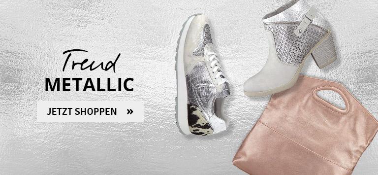 Trend Metallic Schuhe