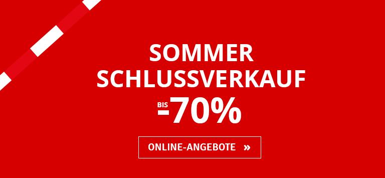 Sommerschlussverkauf bis -70%