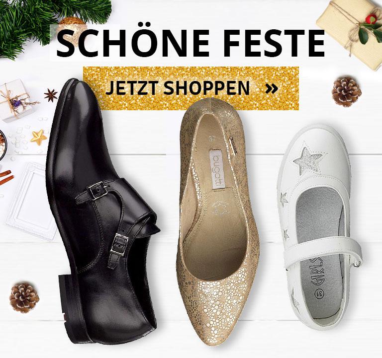 Festliche Schuhe für Damen, Herren und Kinder