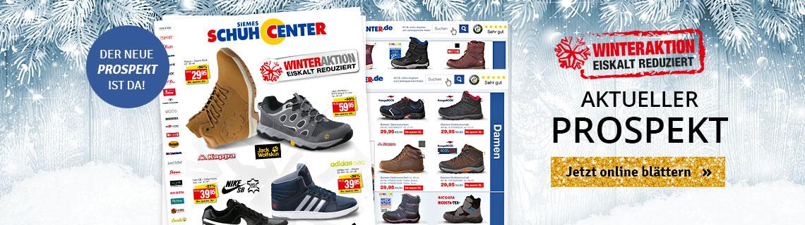 Prospekt Schuhcenter November/Dezember
